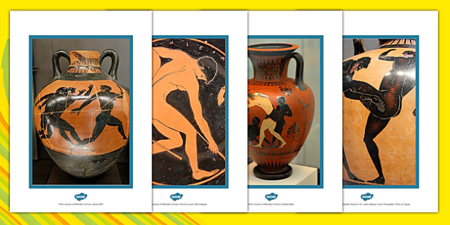 Greek Vase Olympic Photo Pack - greek, vase, photo, pack, olympic