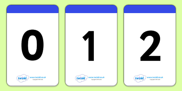 Number Digit Cards 0-30 - math, numeracy, digit card, number recognition, numeracy,numbers,counting,numbers to 30, flash cards