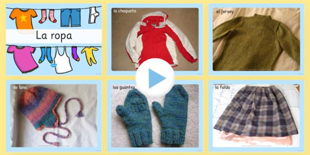 Presentación de ropa con fotos - juego de rol, tienda, vender