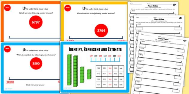 Year 4 Identify Represent Estimate Understanding Place Value