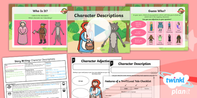 PlanIt Y1 Traditional Tales: Little Red Riding Hood Lesson Pack Story Writing (1)