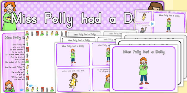 Miss Polly Had a Dolly Resource Pack - australia, pack, dolly