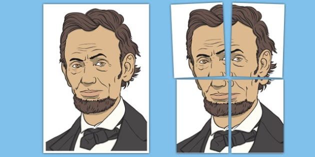 Abraham Lincoln Display Cut Out - usa, presidents day, celebration, federal, cut out, abraham lincoln