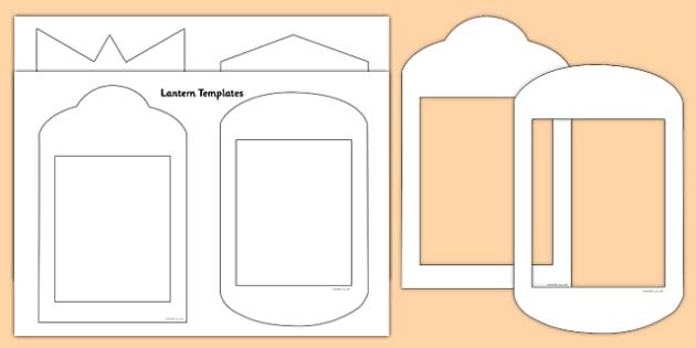 Fanoos Lantern Templates - fanoos, lantern, templates, blank