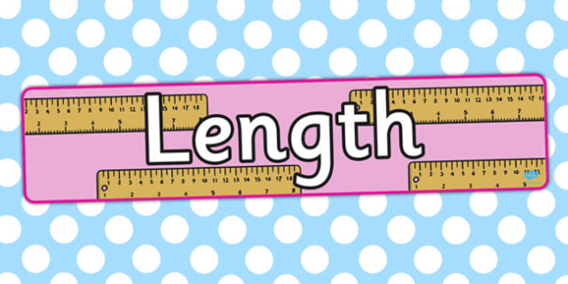 Length Display Banner - displays, banners, measure, visual aid