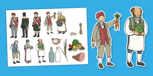 Stone Soup Story Cut Outs - stone soup, story, cut outs, cut, out