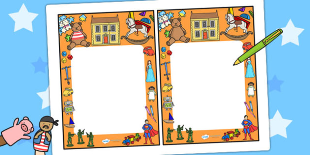 Toy Themed Editable Notes - toys, notes, teacher notes, note