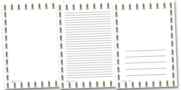 Jack Simpson Portrait Page Borders- Portrait Page Borders - Page border, border, writing template, writing aid, writing frame, a4 border, template, templates, landscape