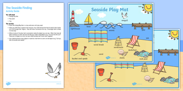 The Seaside Finding Busy Bag Resource Pack for Parents