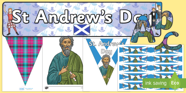 Saint Andrew's Day  Display Pack