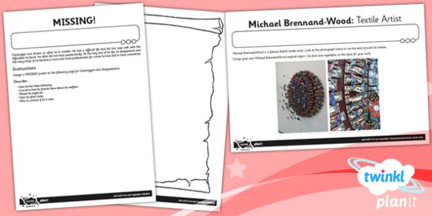 PlanIt Art LKS2 Fruit and Vegetables Unit Home Learning Tasks