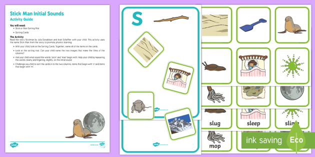 Initial Sounds Busy Bag Resource Pack for Parents