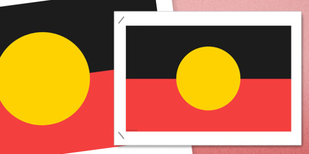 Flags of Australia Aboriginal Flag Poster - australian, geography, areas, different, display, colourful, classroom, visual aid, early years, ks1, key stage 1, ks2, key stage 2, regions, country, nation, people