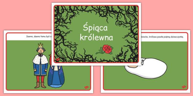 Śpiąca królewna po polsku - bajki, baśnie