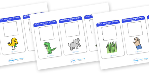 Alphabet Activity Cards (Name the Image) - Picture cards, activity cards, alphabet activity, alphabet, Alphabet frieze, Letter posters, Display letters, A-Z letters, Alphabet flashcards, foundation stage literacy, KS1