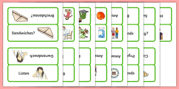 Word Cards for Bocs or Bag Helpwr Heddiw Year 1 and 2 - welsh, cymraeg, Word Cards, Welsh Second Language, Helpwr Heddiw