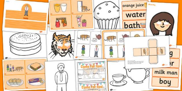 Childminder The Tiger Who Came to Tea Resource Pack - childminder
