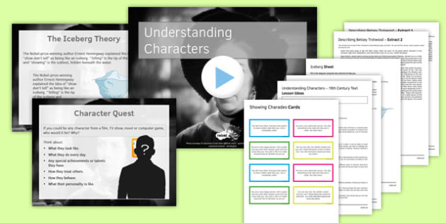Understanding Characters In 19th Century Text Lesson Pack - understanding, characters, 19th, century