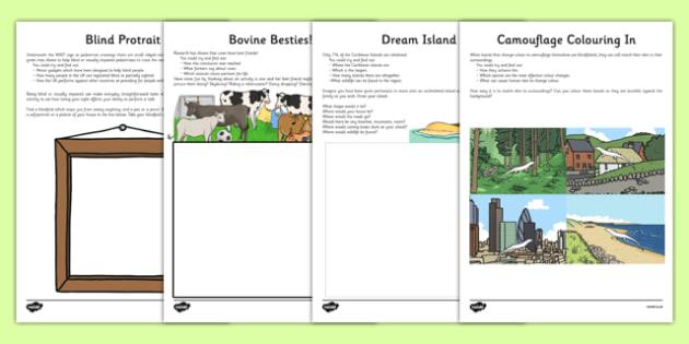 Amazing Facts Creative Task Activity Sheet Pack - amazing facts, creative, task, activity, sheet, worksheet