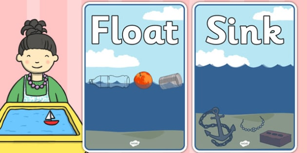 Floating and Sinking Sorting Sheets - floating, sinking, sorting