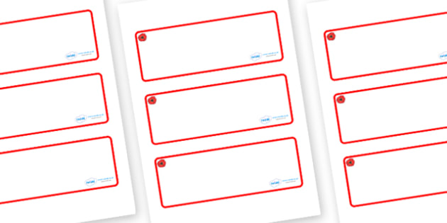 Poppy Themed Editable Drawer-Peg-Name Labels (Blank) - Themed Classroom Label Templates, Resource Labels, Name Labels, Editable Labels, Drawer Labels, Coat Peg Labels, Peg Label, KS1 Labels, Foundation Labels, Foundation Stage Labels, Teaching Labels