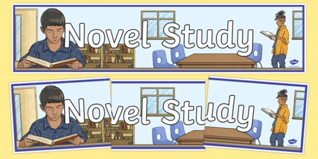 Novel Study Display Banner-Irish