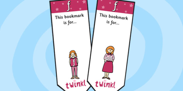 f Sound Family Editable Bookmarks - f sound family, editable bookmarks, bookmarks, editable, behaviour management, classroom management, rewards, awards