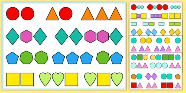 Visual Tracking Exercises Shapes - visual, tracking, exercises, sen, shapes