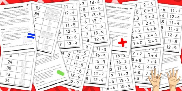 Pelmanism Games Resource-Pack - games, activity, activities
