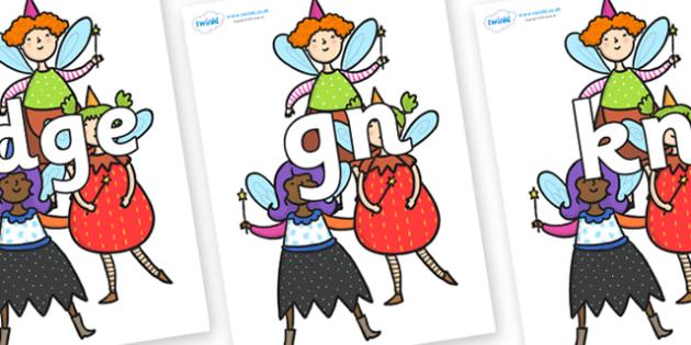 Silent Letters on Good Fairies - Silent Letters, silent letter, letter blend, consonant, consonants, digraph, trigraph, A-Z letters, literacy, alphabet, letters, alternative sounds