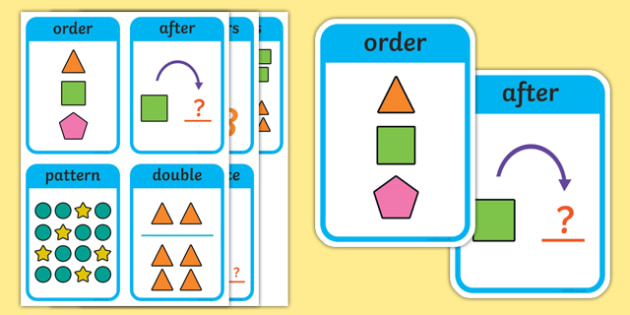 CfE Early Level Numeracy and Mathematics Number and Number Processes Keyword Flashcards-Scottish