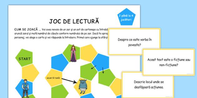 Joc, Intelegerea Lecturii Efectute - dezvoltarea vorbirii