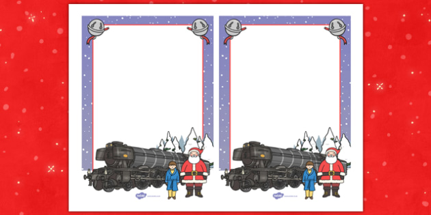Christmas Train Journey Editable Note - christmas train journey, editable, notes