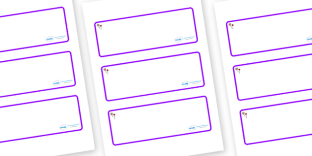 Lollipops Themed Editable Drawer-Peg-Name Labels (Blank) - Themed Classroom Label Templates, Resource Labels, Name Labels, Editable Labels, Drawer Labels, Coat Peg Labels, Peg Label, KS1 Labels, Foundation Labels, Foundation Stage Labels, Teaching La