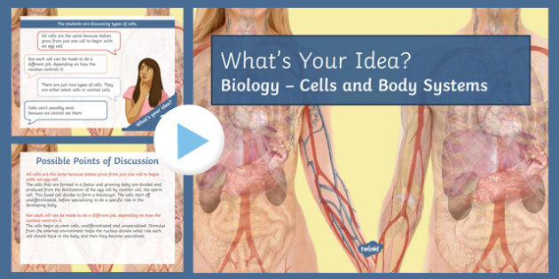 KS3 Cells and Body Systems What's Your Idea? PowerPoint
