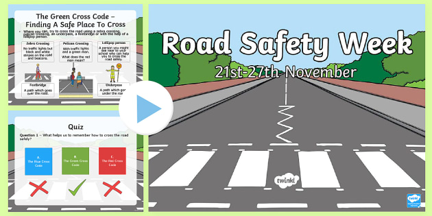 Road Safety Week Information PowerPoint