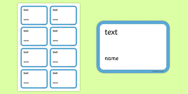 Editable Blank Book Labels - Book label, editable label, subject labels, exercise book, workbook labels, textbook labels