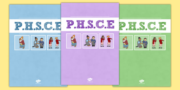 PHSCE Divider Covers - phsce, personal health social and citizenship education, divider covers, divider, cover