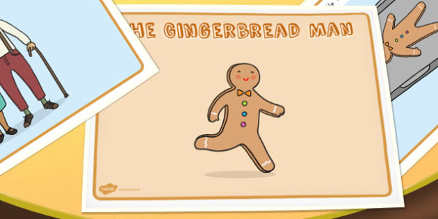 The Gingerbread Man Story - australia, gingerbread man, story