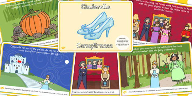 Cinderella Story EAL Romanian Translation Version - romanian