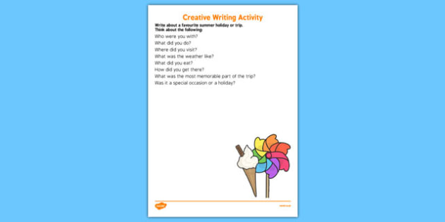 Elderly Care Summer Creative Writing Activity - Elderly, Reminiscence, Care Homes, Summer