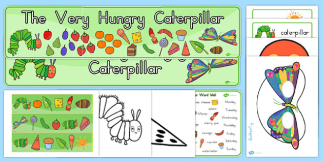 Story Sack to Support Teaching on The Very Hungry Caterpillar - australia, caterpillar