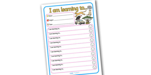 Themed Target and Achievement Sheets Safari Themed -  Target and Achievement, Target and Achievement Sheet, Target Sheet, Safari Themed