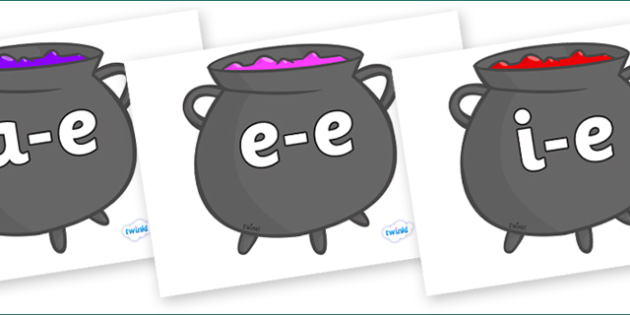 Modifying E Letters on Cauldron - Modifying E, letters, modify, Phase 5, Phase five, alternative spellings for phonemes, DfES letters and Sounds