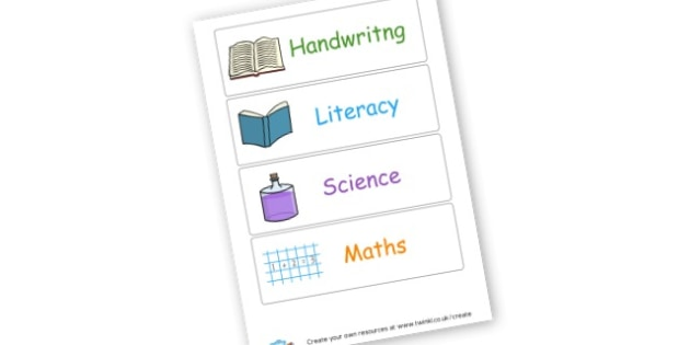 book labels - display lettering - Resource Labels Primary Resources, resource, label, drawer labels