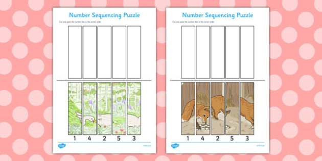 The Tale of Jemima Puddle-Duck Number Sequencing Puzzle - puddle-duck
