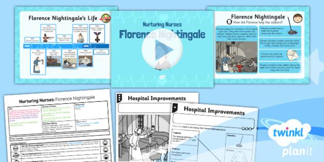 PlanIt - History KS1 - Nurturing Nurses Lesson 2: Florence Nightingale Lesson Pack