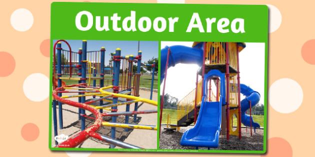 Outdoor Area Photo Sign - outdoor, area, photo, sign, display