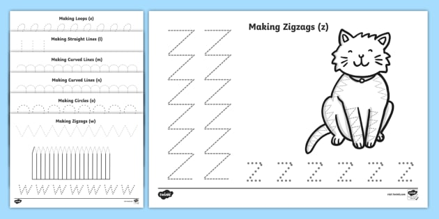 On the Farm Pencil Control Activity Sheets