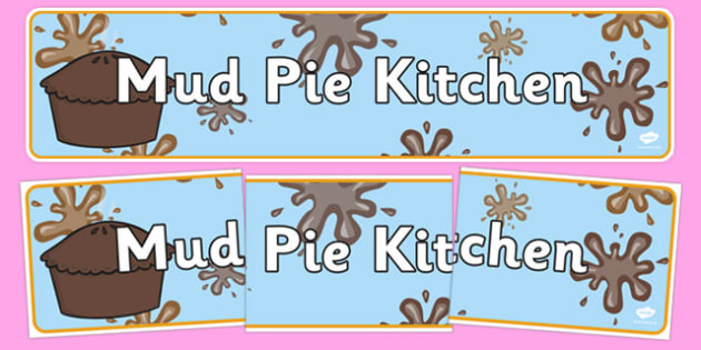 Mud Pie Kitchen Banner - mud pie, kitchen, recipes, cooking